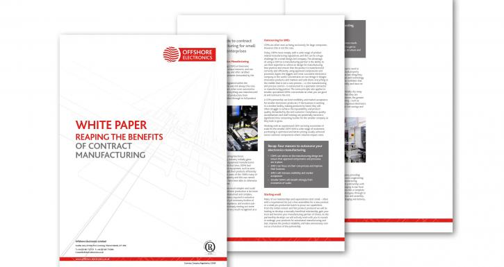 Reaping the benefits of contract manufacturing with new Offshore Electronics white paper